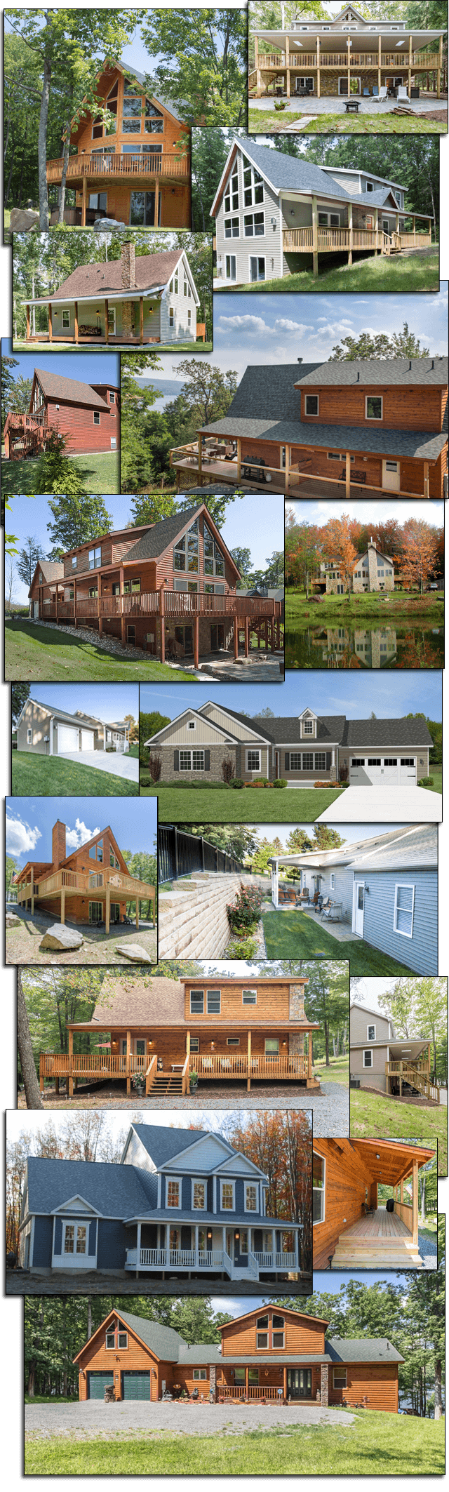 Homes Collage